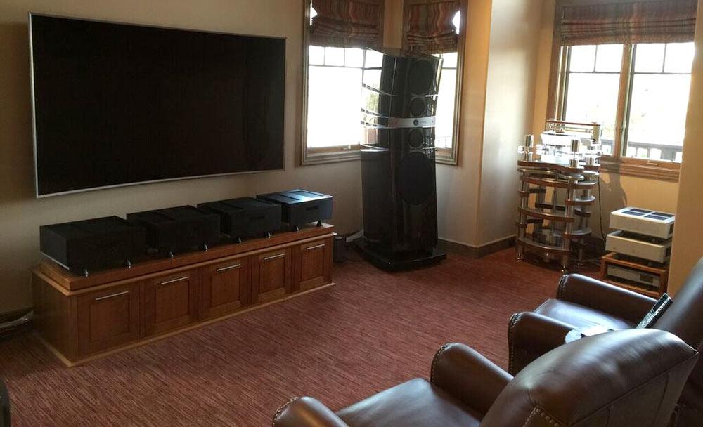 Desert Home - Media Room