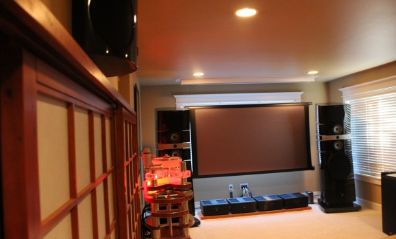 Breathtaking Media Room