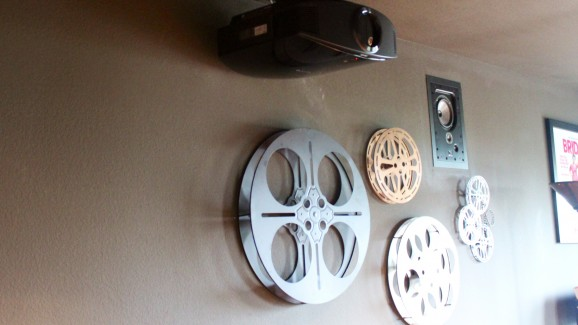 Sony Projector, in-wall Focal in wall surround speakers