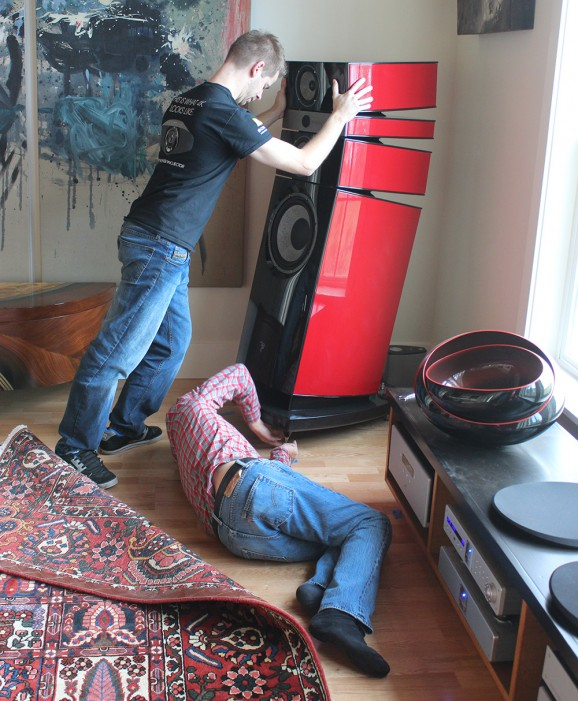 Installing the Focal speakers