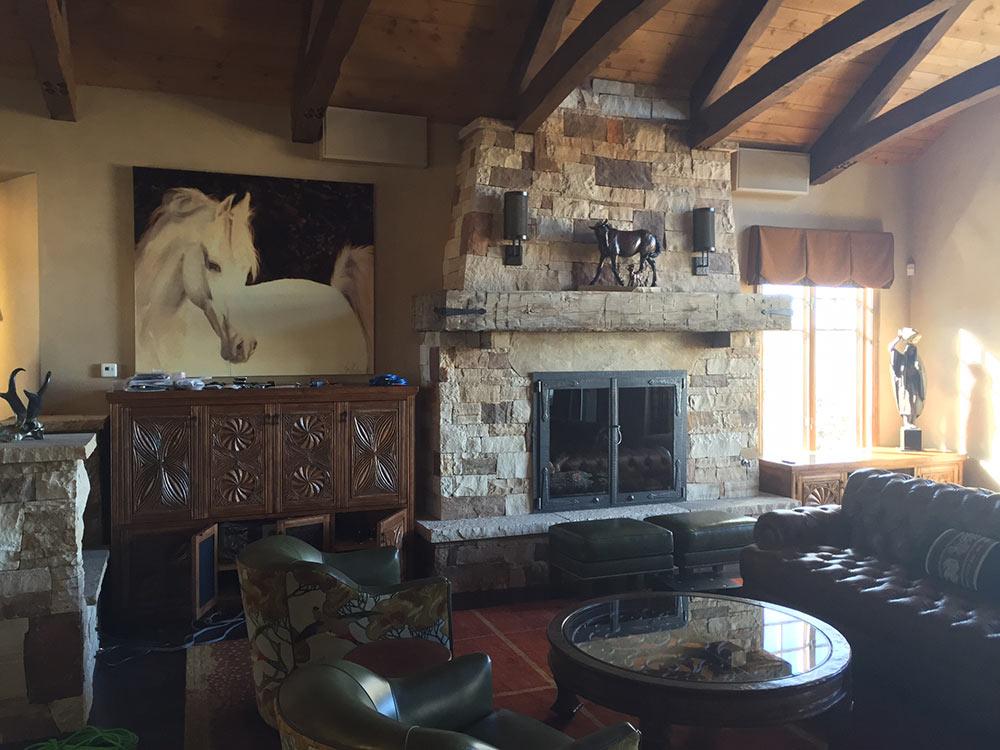 Desert Home - Living Room