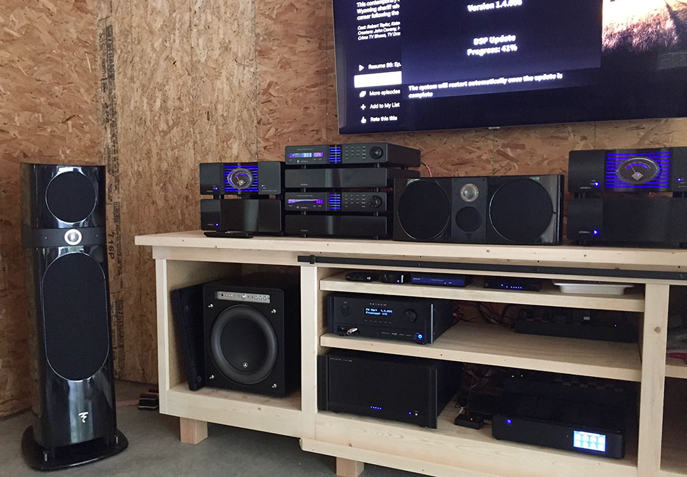 The Best Garage Audio-Video System We Have Ever Done