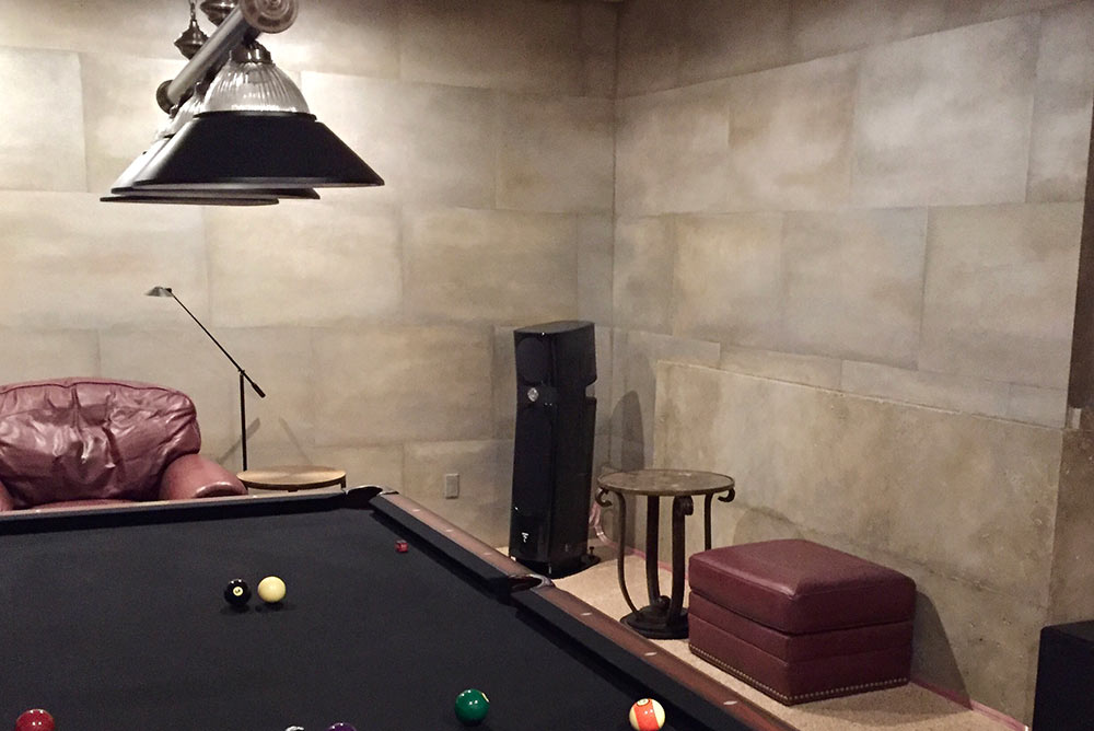 Billiards Room Entertainment System