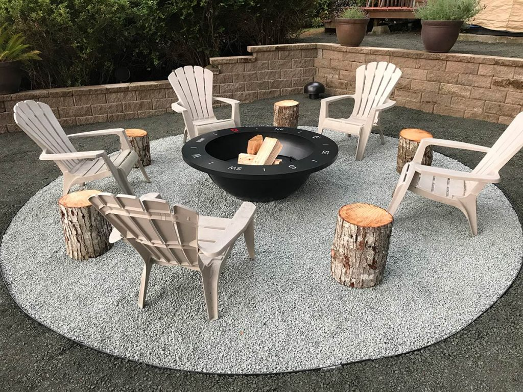 Fire Pit Sound System Installation